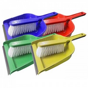 Dust Pan and Brush Set Stiff