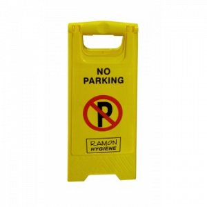 No Parking Warning 'A' Frame Sign