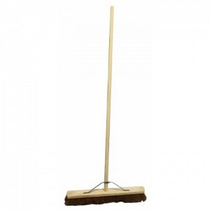 18-36 Coco Soft Wooden Broom Complete