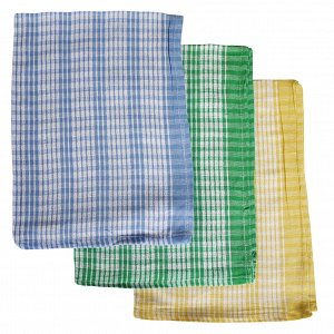 Coloured Checked Tea Towel