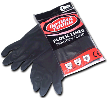 Optima Tough Rubber Gloves